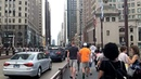 Walking to Lollapalooza in downtown Chicago (Aug 2, 2018)