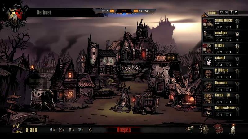 Dread's stream | Darkest Dungeon / Dota 2 - Ogre Magi / Gambit vs Forward | 12.11.2018