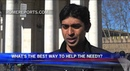 VOXPOP: What's the best way to help the needy?