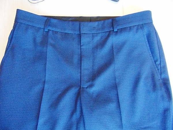 6. Как пришить пояс к мужским брюкам