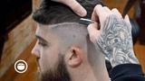 American Barber Gives a European Style Fade & Beard Trim