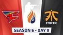 ECS S6 Day 9 - FaZe vs Fnatic, G2 vs Astralis MiBR vs eUnited, MiBR vs LG