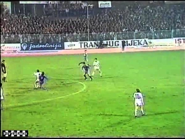 Kup UEFA 24.10.84 - Rijeka - Real Madrid 3:1