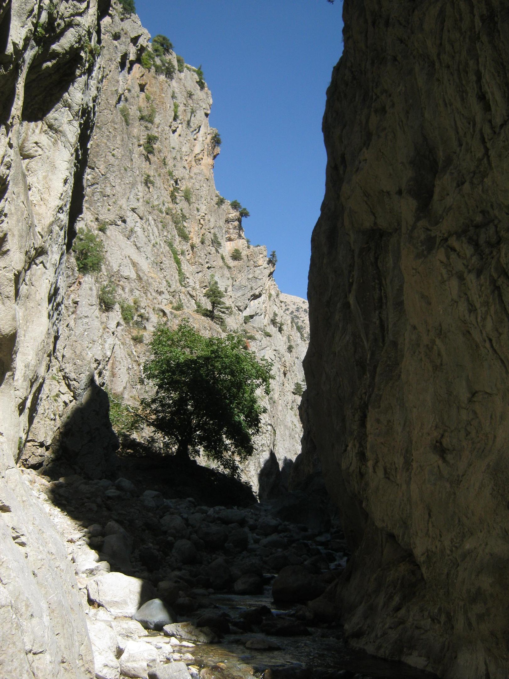 ущелье Аксу в нац парке Аладаглар