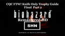 Resident Evil HD Remaster 1080p/60fps Knife Only CQC FTW! Trophy Guide Part 2 Finale