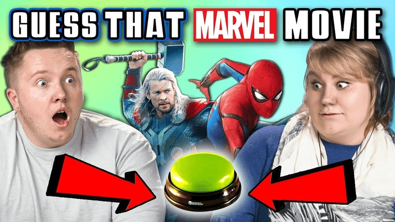 GUESS THAT MARVEL MOVIE CHALLENGE FBE Staff Reacts