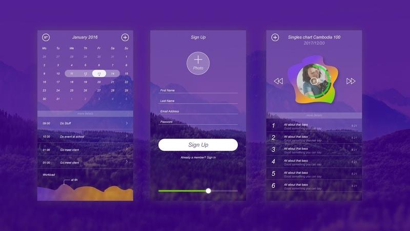 UI Design tutorial in Illustrator How to design user interface user experience design UI design