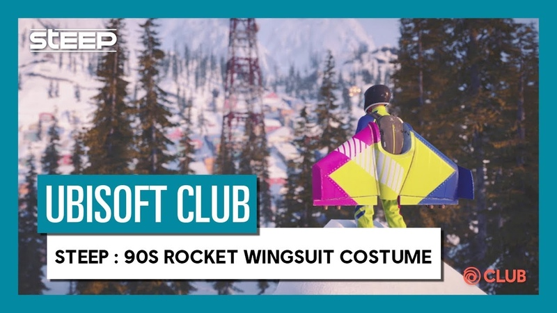 UBISOFT CLUB REWARDS: GO BACK IN THE 90'S WEARING THE EXCLUSIVE ROCKET WINGSUIT COSTUME.
