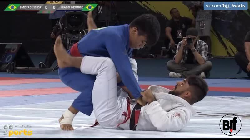 62kg Hiago George vs Joao Gabriel Sousa Final ADGSRIO18