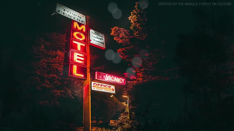 Motel at the End of the Road ASMR Ambience