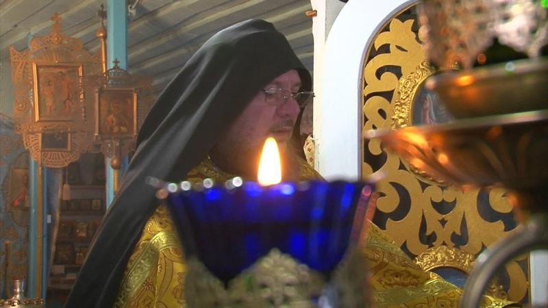 Благословенная царскими старцами литургия о грядущем царе
