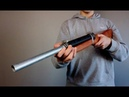Legal Homemade Slamfire Pipe Shotgun (Cost 20$)