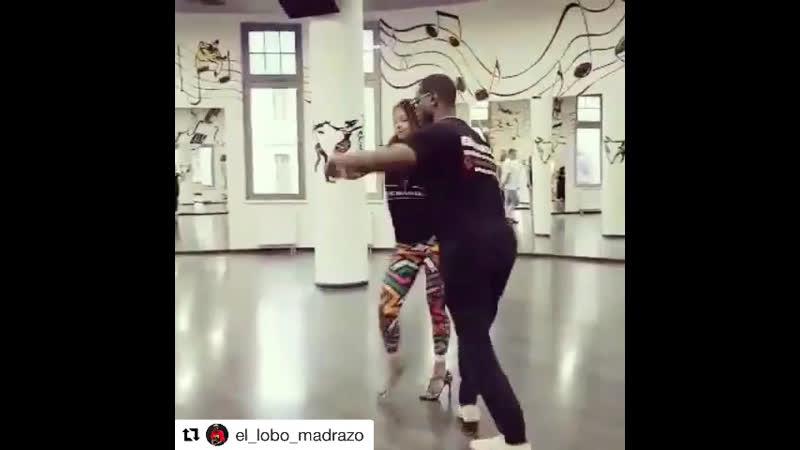 El Lobo y Diana Estrada