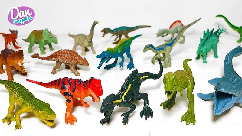 ALL JURASSIC WORLD MINI ACTION DINOSAUR TOYS for kids! Fallen Kingdom Indoraptor