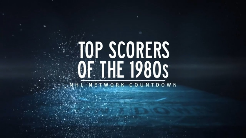 NHL Network Countdown: Top Scorers of the 1980s