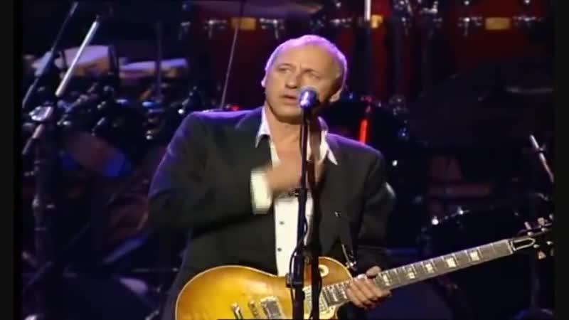 Mark Knopfler, Eric Clapton, Sting _u0026 Phil Collins- Money for Nothing (Live Montserrat)