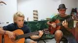 Simple blues (Soren Madsen)Blues Guitar Duet