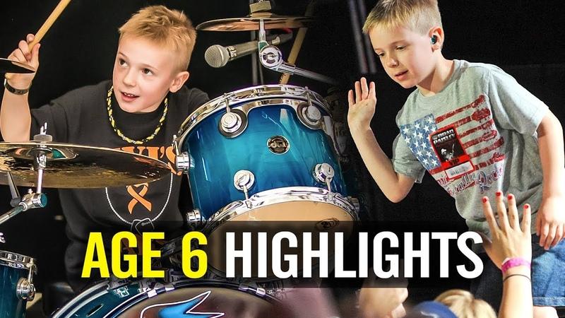 Age 6 Highlights - Avery Drummer Molek