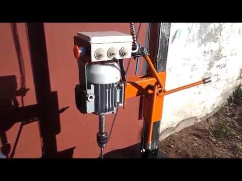 Сверлильный станок Самодельный Drilling machine Homemade
