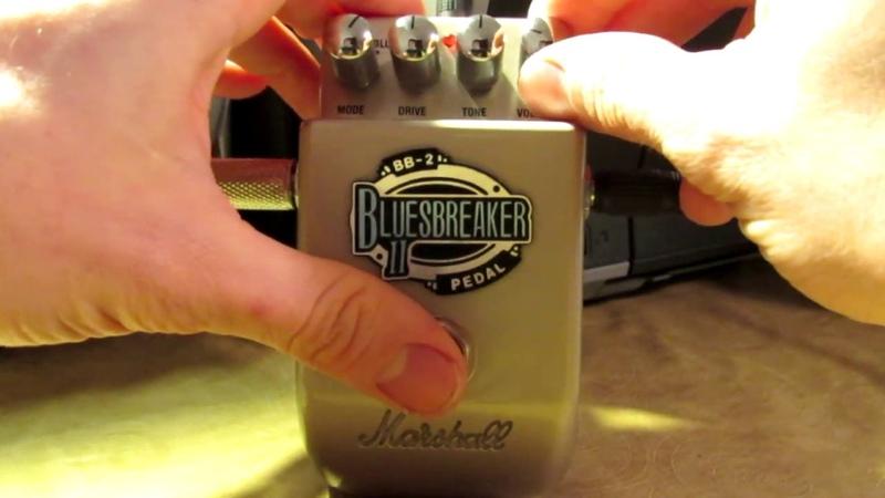 Marshall Bluesbreaker II BB-2 Quick Test (Reamping)