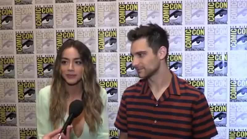 Jeff and Chloe Interview with GamerHubTV. SDCC