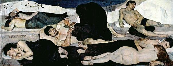 « одного шедевра». «Ночь», Фердинанд Ходлер