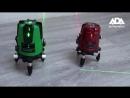 Обзор лазерных уровней ADA 3D LINER 2V_4V GREEN