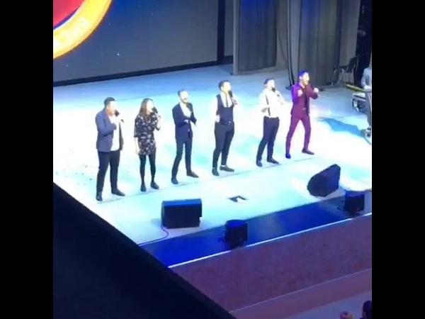 Команда КВН Берег Байкала (Бурятия) в полуфинале лиги Азия.