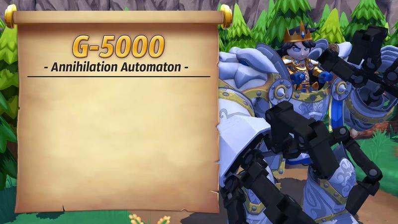Royal Guardians G 5000 Annihilation Automaton