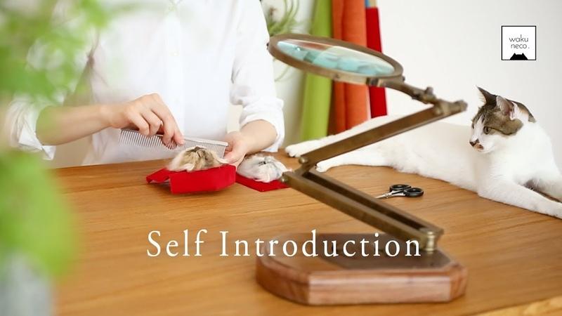 自己紹介 わくねこ羊毛フェルトについて ❤︎ Self Introduction