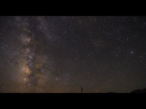 Beauty of the Night Sky - Milky Way Time Lapse