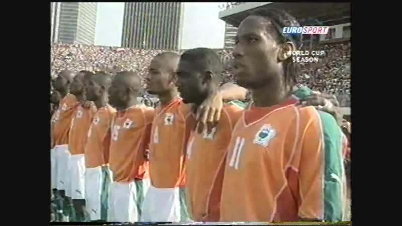World Cup 2006 Highlights. Обзор матчей за 12.10.2005