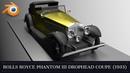 Rolls Royce Phantom III Drophead Coupe 1933 Blender 360º