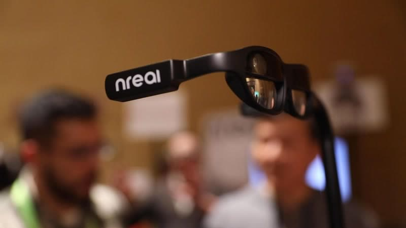 CES 2019: Nreal Light headset is a small Magic Leap One ces 2019: nreal light headset is a small magic leap one