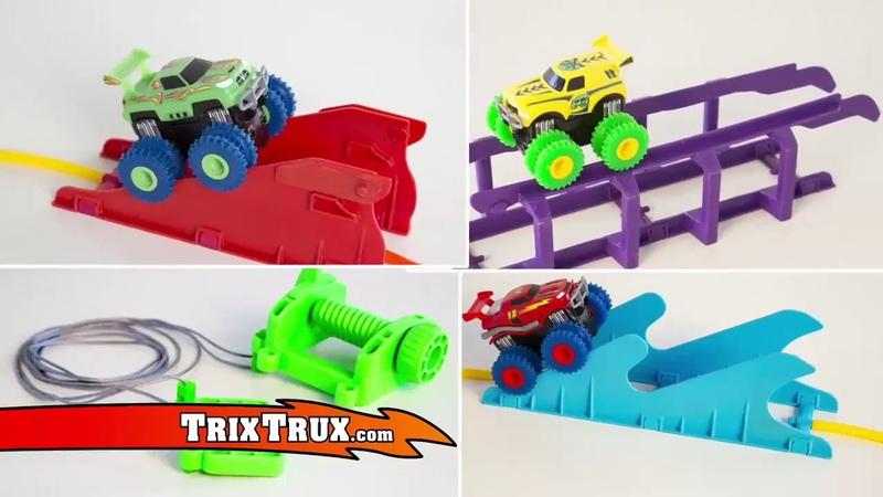 Игрушка/Машинки Trix Trux/ездят по канатам и на двух колесах