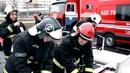 Учение спасателей МЧС МИНСКА в ТРЦ Palazzo