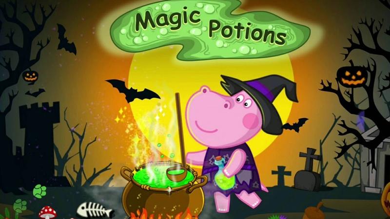 MAGIC POTIONS GAME PART 1 / NƯỚC MA THUẬT/ VI VUI VẺ
