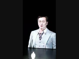 Сергей Безруков. Спектакль Хулиган Исповедь. Красноярск. 21.12.2018.