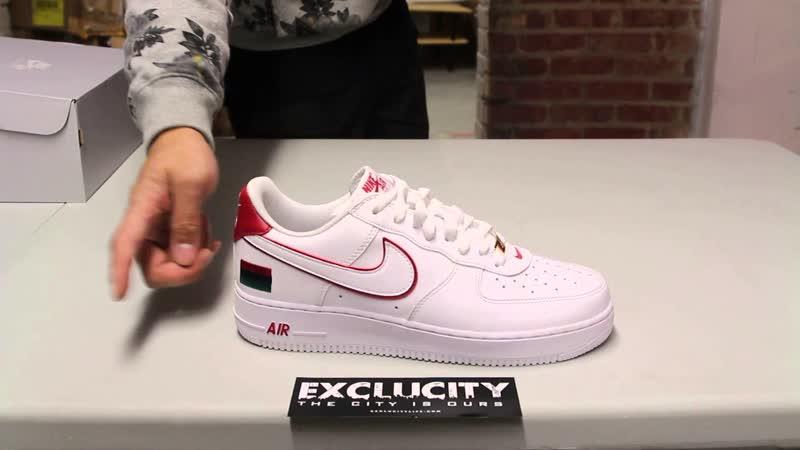Женские кроссовки Nike SF Air Force 1 SE Premium Серебристые с отражением