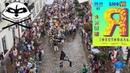 Еноты на VIII Биг-Мини-фестивале уличного искусства