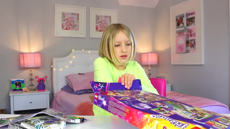 Lego Friends - Livis Pop Star House _ Unboxing Building_Full-HD