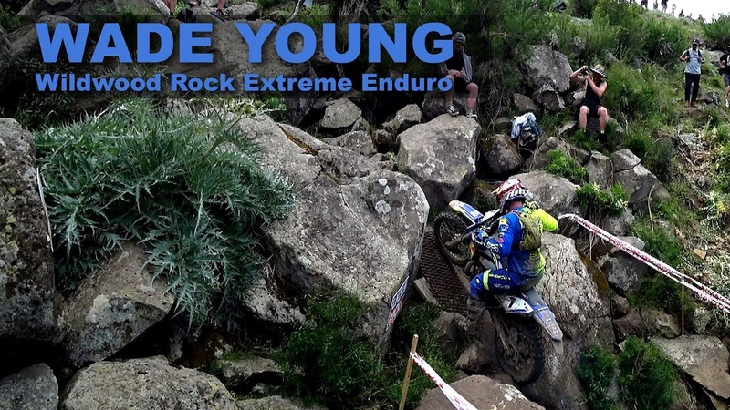 WADE YOUNG shreds Wildwood Rock Extreme Enduro 2018!