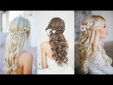 12 Most Elegant And Beautiful Wedding Hairstyles ❀ Bridal Hairstyles For Long Hair Tutorial