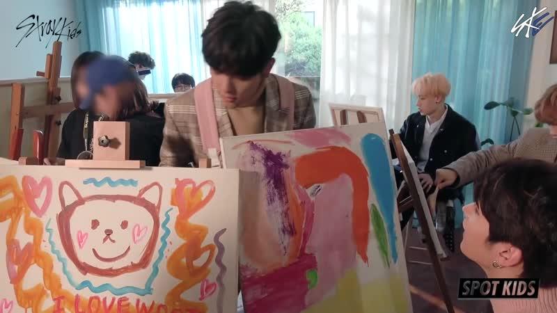 FSG Eternity | SPOT KIDS – Весёлые съёмки клипа «Get Cool» [рус.саб]