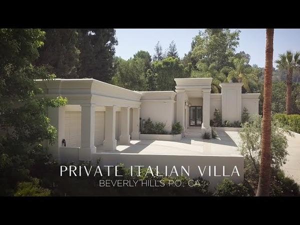 Private Italian Villa in Beverly Hills Post Office