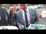 Brett Dalton signing autographs at The Curse Of La Llorona premiere