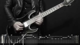 Rammstein Sonne instrumental cover (tabs, backing track) + SOLO