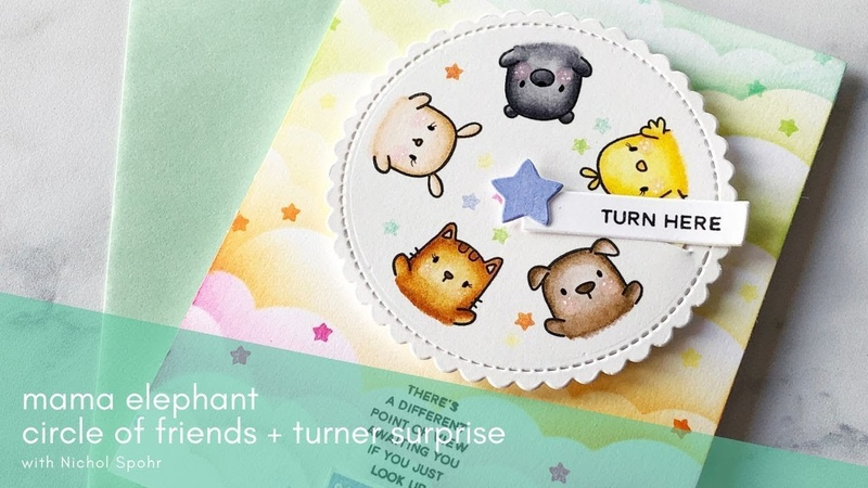 Mama Elephant | Circle of Friends Turner Surprise Interactive Card