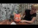 Мастер класс светильник из изолона кошка Карамелька МК светильник
