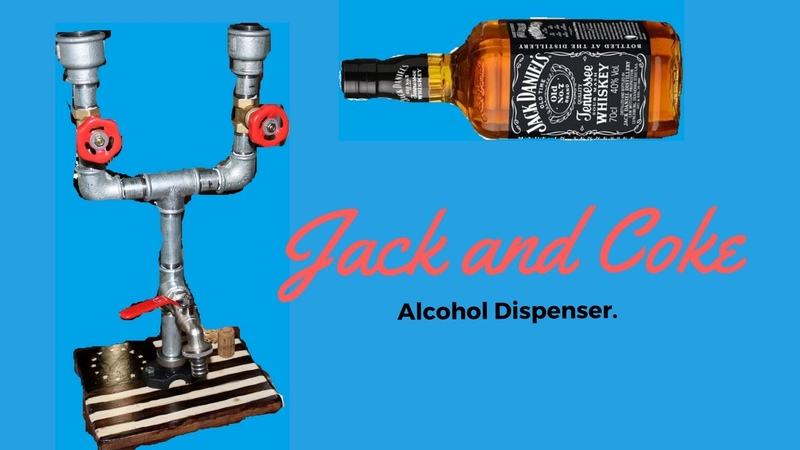 Jack and Coke Alcohol Dispenser